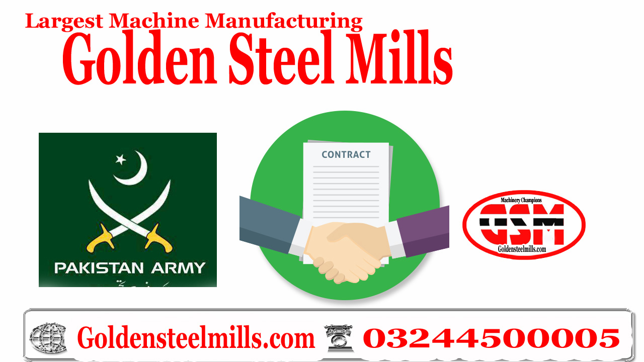 gsm block making machine Successfully delivery pakistan army