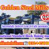 gsm 24 block making machine in pakistan islamabad