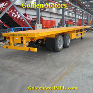 Low Bed Flat Bed Trailer
