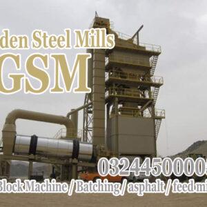 120 Ton asphalt plant for sale in pakistan