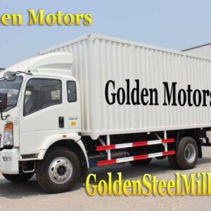 Closed box semi trailer For Transport