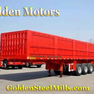 Trailer side wall semi truck trailer for sale